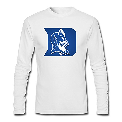 Yang Men's Duke Blue Devils Mens Basketball Long Sleeve T Shirt XXXL (Devils Mens Basketball)