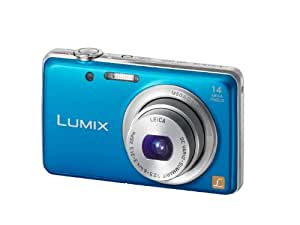 "Panasonic Lumix DMC-FS40 - Cámara compacta de 14 Mp (pantalla de 2.7"", zoom óptico 5x, estabilizador de imagen óptico, vídeo HD 720p) color azul"