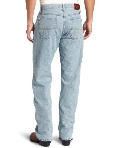 Men's Genuine Wrangler Loose Fit Jean, Stone Bleach, 36x30