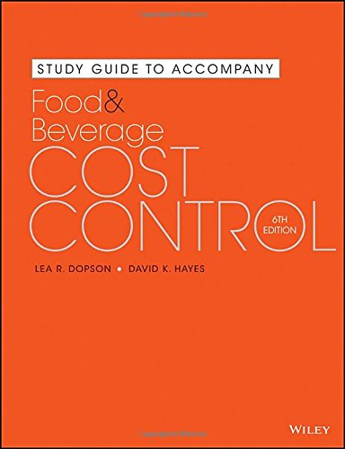 food and beverage cost control - 4