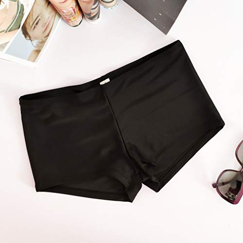 Limsea Women's 2019 Beach Swimming Stretch Swim Board Quick Dry Athletic Trunks Shorts(Medium,Black) by Limsea Bikinis (Image #3)