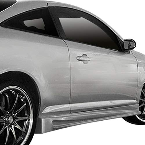 Duraflex Replacement for 2005-2010 Chevrolet Cobalt 2007-2010 Pontiac G5 2DR Bomber Side Skirts Rocker Panels - 2 Piece ()