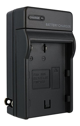 TechFuel Battery Charger Kit for Nikon D70s Camera - For Home, Car and Travel Use