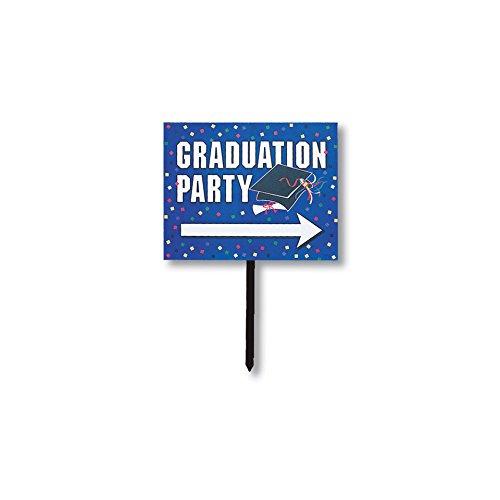 Creative Converting Graduation Party Directional Yard Sign ()