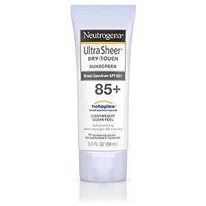 Neutrogena Ultra Sheer Dry-Touch Sunscreen Broad Spectrum SPF 85, 3 Fl. oz.
