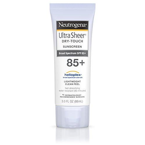 Neutrogena Ultra Sheer Dry-Touch Sunscreen, Broad Spectrum Spf 85, 3 Oz.