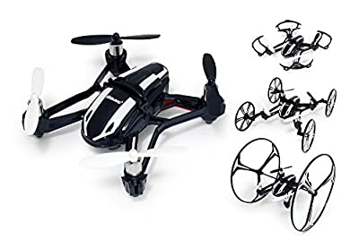 UDI U841 6-Axis Gyro 2.4Ghz 4-in-1 RC Quadcopter with HD Camera - Black