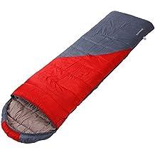 Single sleeping bag outdoors/Adult seasons camping sleeping bag/Thick warm indoor portable camping sleeping bag lunch break