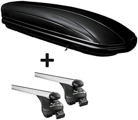 ab 2009 Dachbox VDPMAA320 320Ltr abschlie/ßbar schwarz Stahl Dachtr/äger Aurilis Original kompatibel mit BMW Serie 5 GT 5T/ürer F07