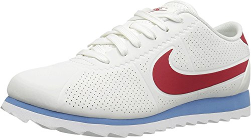 outlet store 52c82 7cd19 Galleon - Nike Women s Wmns Cortez Ultra Moire, Summit White Varsity Red-Varsity  Blue (11, Summit White Varsity Red-Varsity Blue)