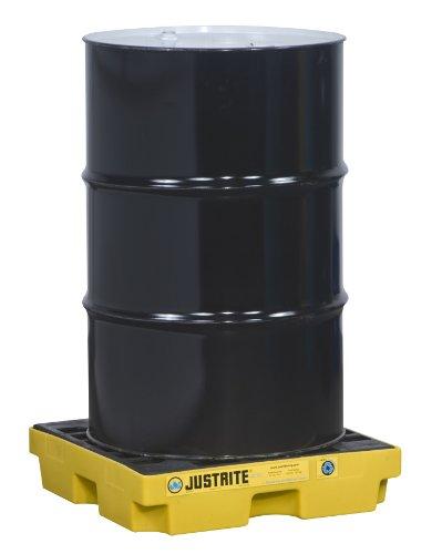 (Justrite 28652 EcoPolyBlend 12 Gallon Sump, 25