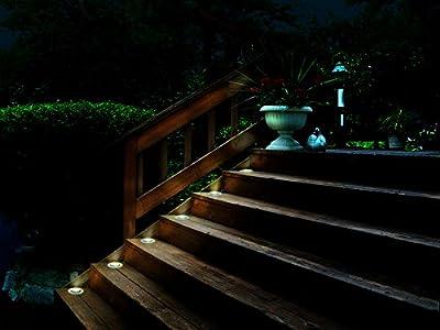 Malibu 6 PK LED Deck Lights Low Voltage Landscape Light 8401-2430-06