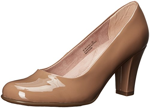 Aerosoles Women's Major Role Dress Pump, Light Tan Patent, 9 M US (Pump Women Tan)