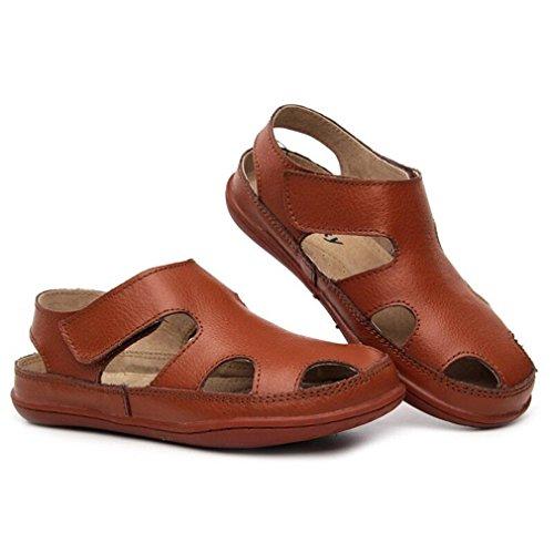 Blanc 9 Casual Enfants Chaussures Girls Slip Bébé Rose Sandales Sandale Lumino Anti Boys pour gwzxqPd
