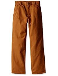Carhartt boys Big Boys Adjustable-waist Dungaree Pant