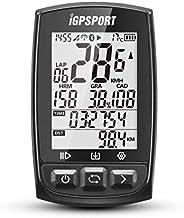 GPS Bike Computer Big Screen iGPSPORT iGS50E Wireless Cycle Computer Compatible with Cadence Speed Sensor Hear
