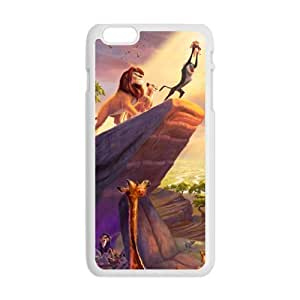 Charming lion and lovely animals Cell Phone Case for iPhone plus 6