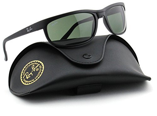 Ray-Ban RB2027 W1847 PREDATOR 2 Matte Black / Green - Predator Ban Ray Sunglasses