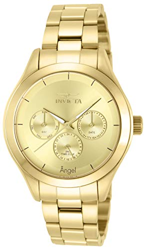 Invicta Women s 12466 Angel Gold-Tone Stainless Steel Watch