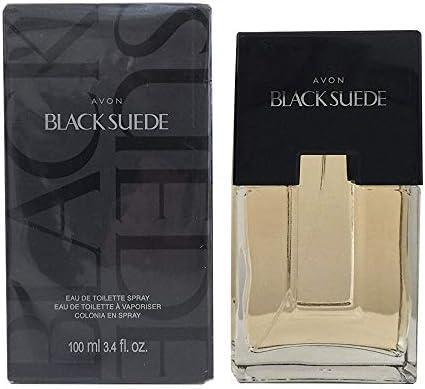 Avon Black Suede for Men Eau De Toilette Spray - 3.4 Ounce