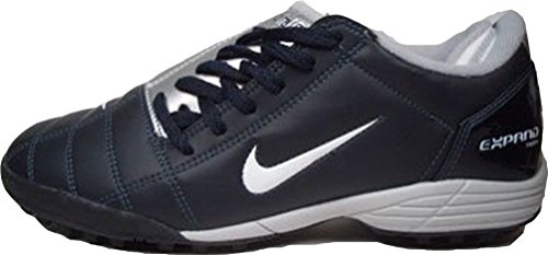 Nike JR. Total90 III Expand Plus TF 308941 – 411 Azul de plata tamaño euro 37,5/US 5Y/UK 4,5/23,5 cm