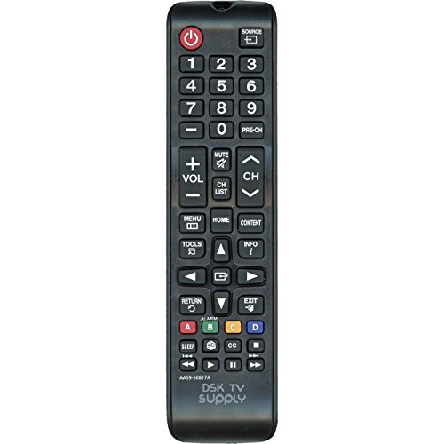 DSK TV Supply AA59-00817A Remote Control for Samsung LCD/ LED TV Monitors