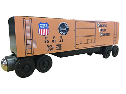 Whittle Boxcar - Whittle Shortline Railroad - Manufacturer Pacific Fruit Express Hi-Cube Boxcar