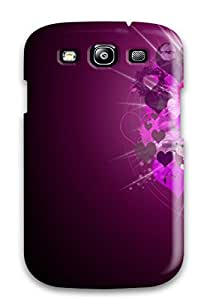 Forever Collectibles Romantic Love Normal Hard Snap-on Galaxy S3 Case
