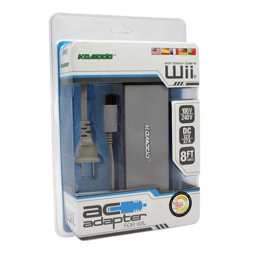 KMD AC Adapter for Nintendo Wii