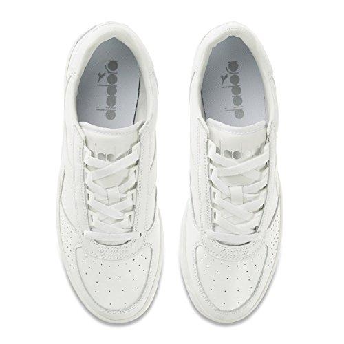 Diadora B Elite, Zapatillas para Hombre Blanco (Bianco Ottico/bianco Candido)