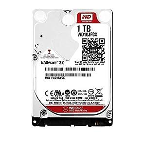 """WD Red 1TB NAS Internal Hard Drive - 5400 RPM Class, SATA 6 Gb/s, CMR, 16 MB Cache, 2.5"""" - WD10JFCX"""