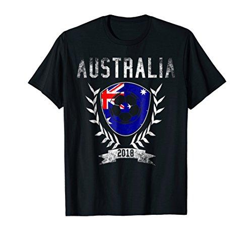 Australian Football Cup 2018 T-Shirt - Australia Soccer Tee ()