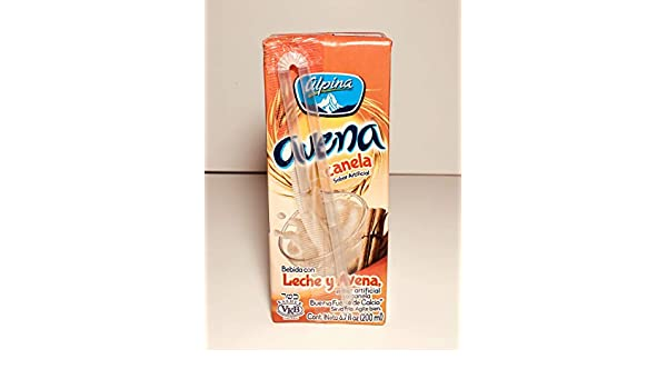 Amazon.com : Alpina Avena Cinnamon Oatmeal Smoothie, 12-6.7 Oz (200 ml) : Grocery & Gourmet Food