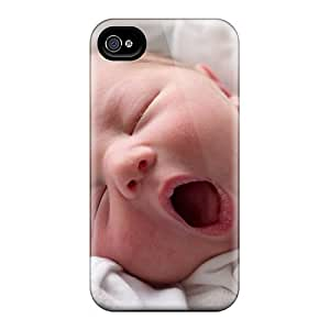 Brand New 4/4s Defender Case For Iphone (sleepy Baby) by mcsharks