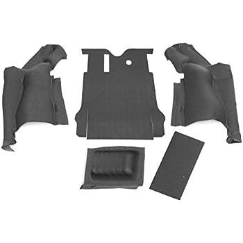 BedRug Jeep Kit INCLUDES TAILGATE /& CARGO LINER BedRug BRCJ76R fits 76-80 CJ-7 REAR KIT W//GUSSETS 4PC FLOOR KIT