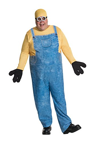 Rubie's Costume Co Men's Minion Bob Plus-Size Costume, Multi, One Size