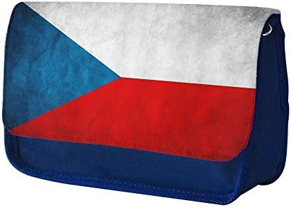 Banderas República Checa 1, Azul Escuela Niños Sublimación Alta calidad Poliéster Estuche de lápices con Diseño Colorido. 21x13 cm.: Amazon.es: Oficina y papelería