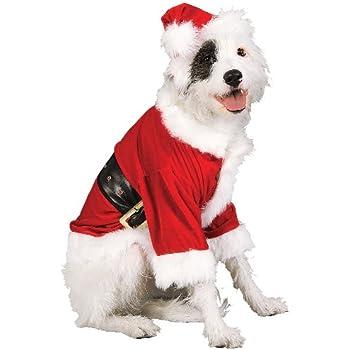 Rubie's Christmas Pet Costume, Santa Claus, Large