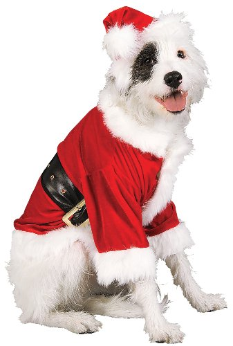 Rubie's Christmas Pet Costume, Santa Claus, (Dog Santa Costumes)