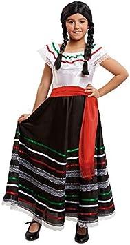 DISBACANAL Disfraz de Mexicana para niña - -, 5-6 años: Amazon ...