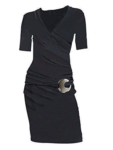 Kleid mit 1/2 Arm von heine Schwarz