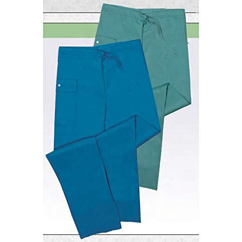 Molnlycke Barrier Mens Drawstring Pants, Slate Green, Small Drawstring 18710