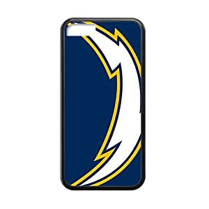 TYH - san diego chargers Hot sale Phone Case for ipod Touch4 Black ending phone case