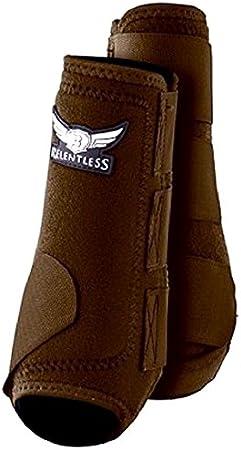 C-10-S Small Chocolate Relentless Trevor Brazile Horse 2 Front Leg Sport 2 Bell