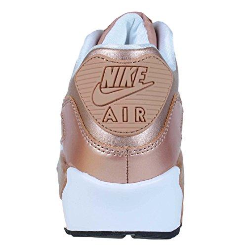 Nike Air Max 90 Ltr Gs Löparskor Metalliskt Röd / Brons