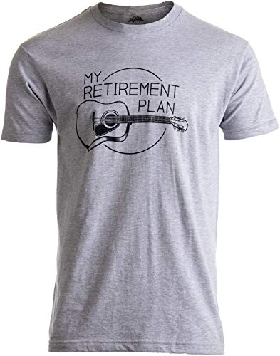 My Retirement Plan (Guitar) | Funny Music Musician Humor Men Women Joke T-Shirt-(Adult,2XL) ()