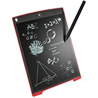 Gradeo Y83 Portable Re-Writable LCD E-Pad for Drawing/Playing/Handwriting (Assorted Colour, 8.5-inch)