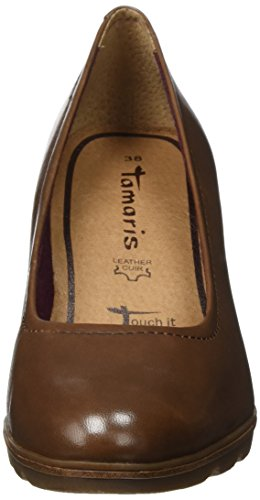 Marron 22425 Escarpins Femme cognac Tamaris zCXqwx