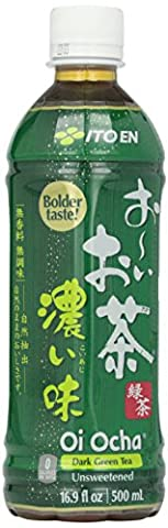 Tea's Tea Oi Ocha Dark Green Tea, 16.9 oz