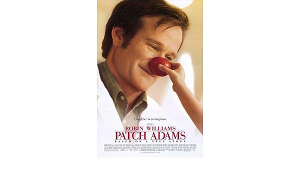 Amazon Com Movie Posters Patch Adams 27 X 40 Posters Prints